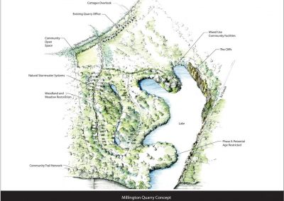 Millington Quarry Mixed-Use Master Planning