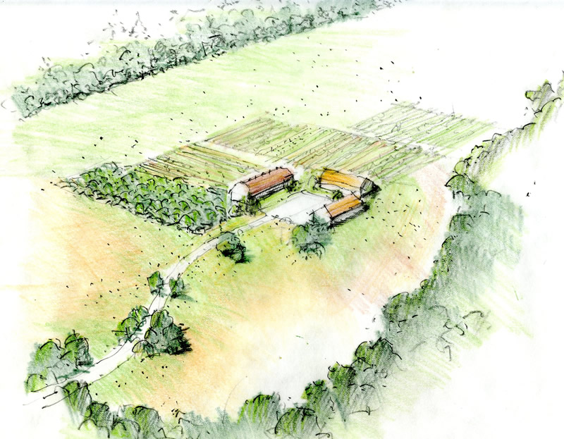 Regenerative Village in Central New Jersey